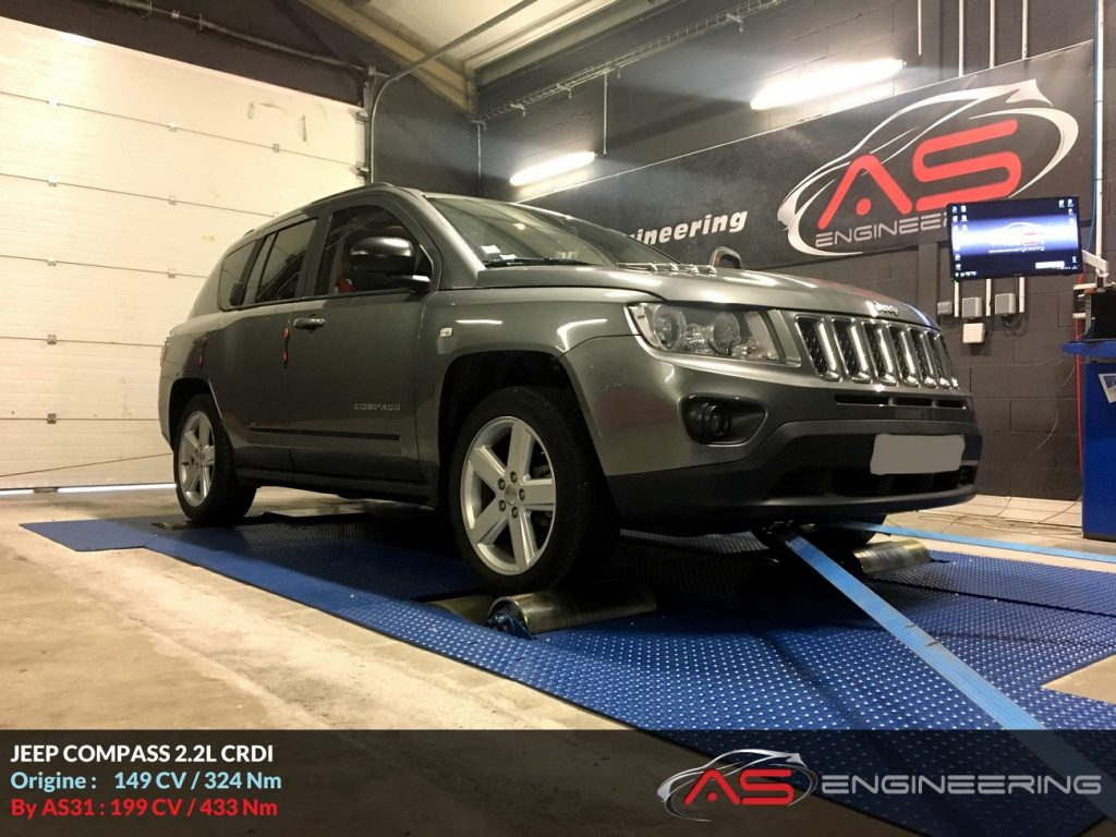 jeep compass 2 2l crdi 136cv as31 reprog moteur proche toulouse. Black Bedroom Furniture Sets. Home Design Ideas