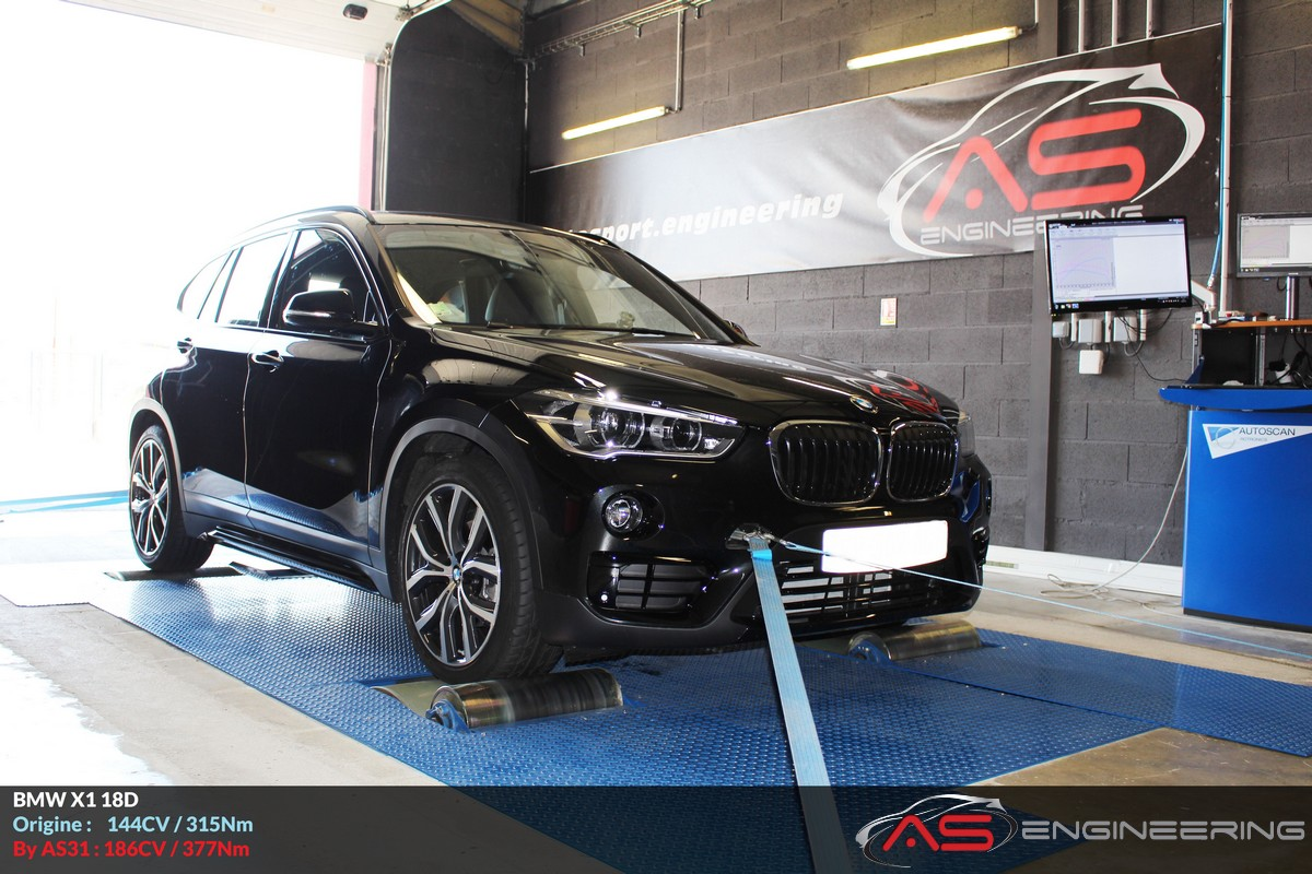 bmw x1 18d 2017 as31 reprog moteur proche toulouse. Black Bedroom Furniture Sets. Home Design Ideas