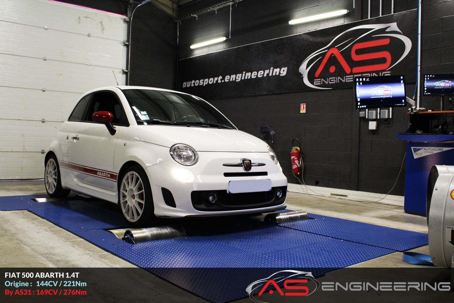 fiat 500 abarth 1 4t as31 reprog moteur proche toulouse. Black Bedroom Furniture Sets. Home Design Ideas