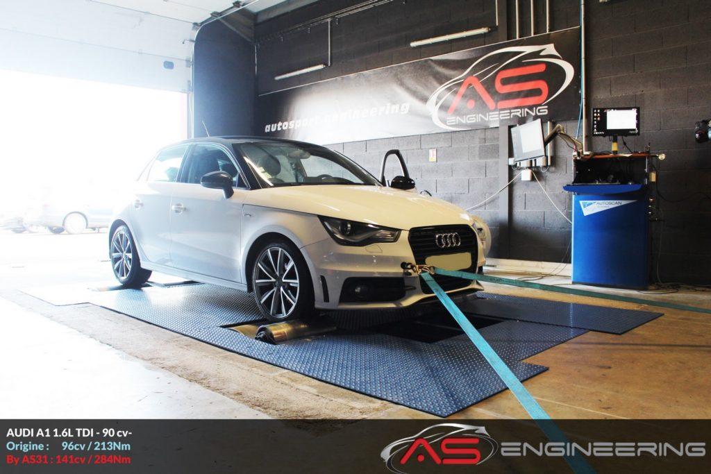 Reprogrammation Moteur Audi A1 16l Tdi 90cv As31 Reprog Moteur