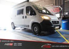 Reprogrammation Moteur Camping Car Fiat Ducato 2.3 D 140cv 2021 Toulouse